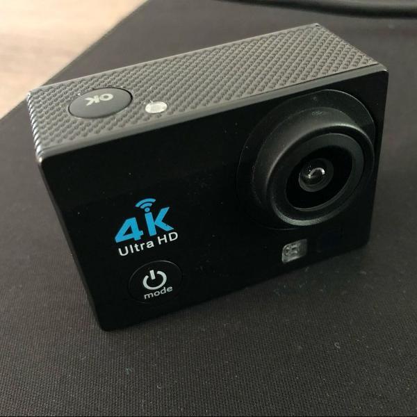 Câmera ação 4k