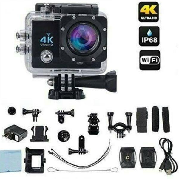 Câmera filmadora sports 4k ultra hd dc