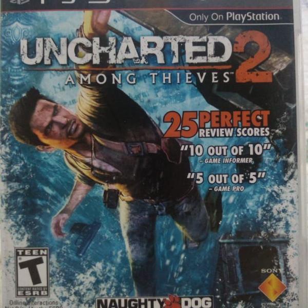 Jogo para ps3 - uncharted 2
