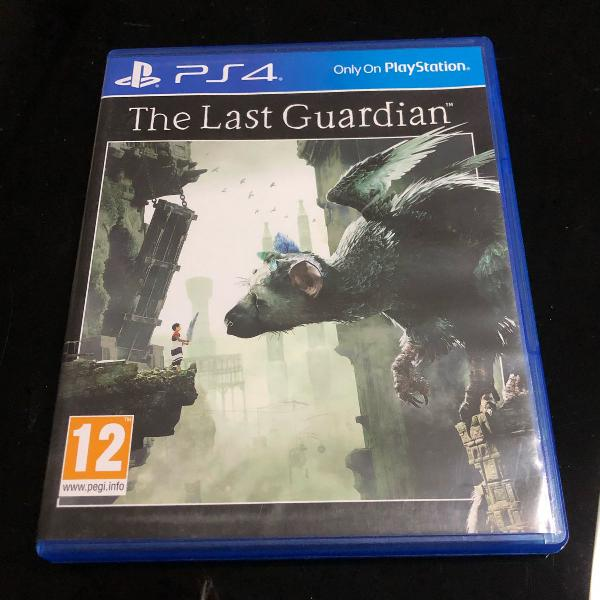 Jogo ps4 the last guardian