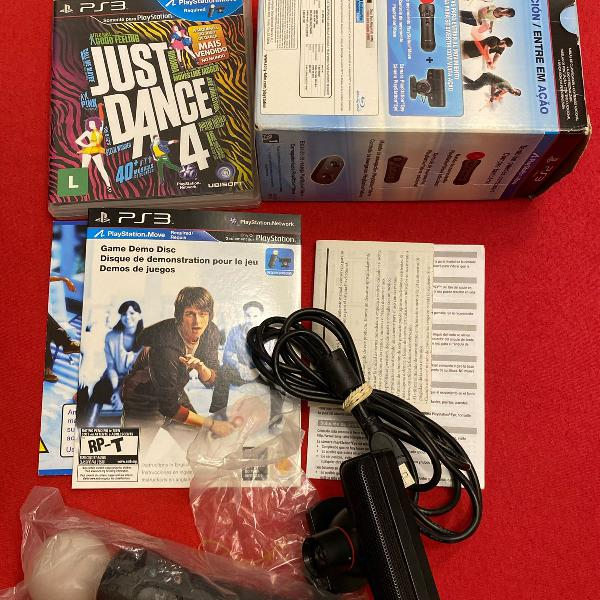 Just dance 4 + controle move ps3