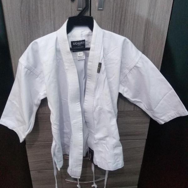 Kimono seishin infantil reforçado karate - m1