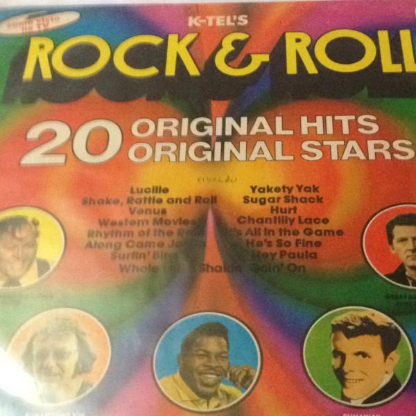 Lp rock & troll, disco de vinil rock &o roll