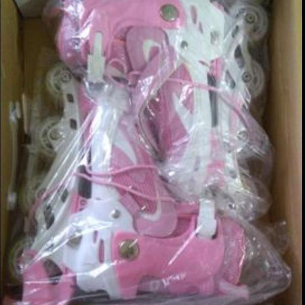 Roller oxer rosa