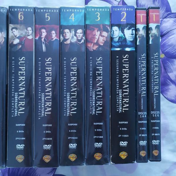Supernatural 1 a 7 temporada