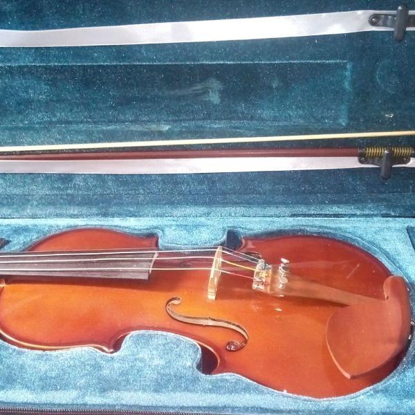 Violino 4/4 eagle com case, arco e espaleira