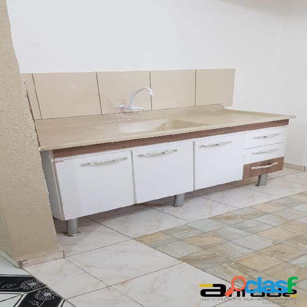 Casa locação próx.centro de barueri-1dorm com closet- lavanderia-sala
