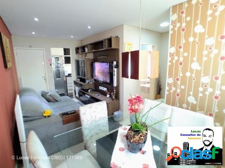 Apartamento de 50 m² no condomínio spazio jandaia em jundiaí