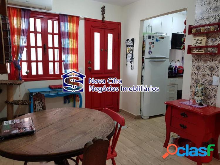 Casa térrea 2 dorms. condomínio fechado em jacareí - 184m²