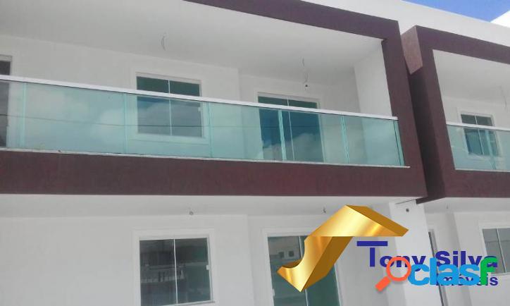 Aluguel Fixo!Apartamento 2 quartos com suíte Novo Portinho 1