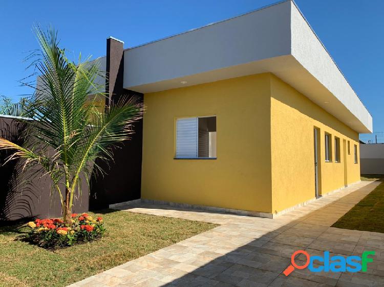 Casa nova-mcmv-ótimo local-próx. a todo comércio -jd. américa-itanhaém-sp