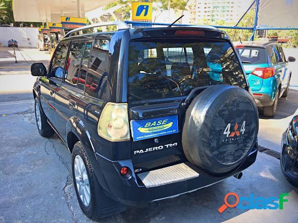 Mitsubishi pajero tr4 2.0 2.0 flex 16v 4x4 aut. preto 2011 2.0 16v flex