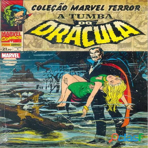 Coleção marvel terror: a tumba de drácula 1