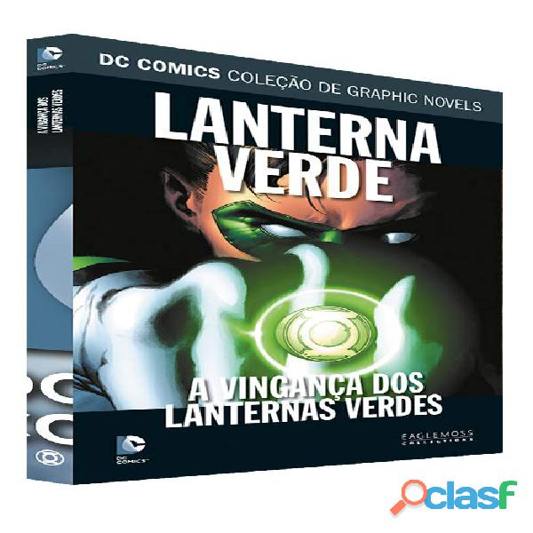 Graphic novel a vingança dos lanternas verdes