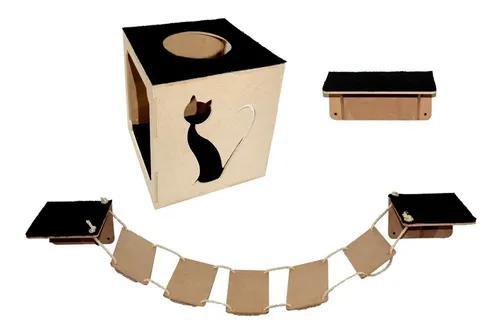 Arranhador gato casa nicho brinquedos para gatos novidade