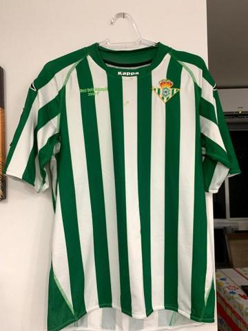 Camisa real bétis 2008/2009 - tamanho m