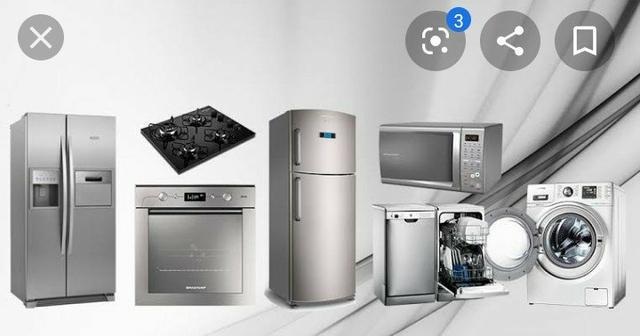 Conserto em máquina de lavar e geladeira a domicílio