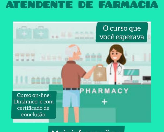 Curso Livre Atendente de FarmáciaDrogaira