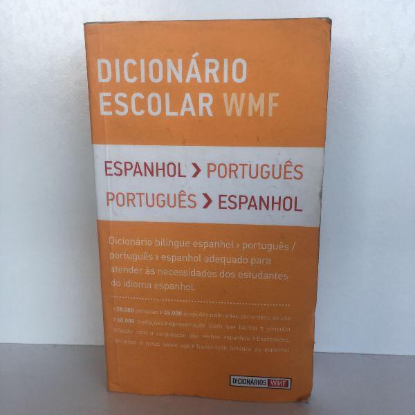 Dicionário escolar wmf (espanhol/português)