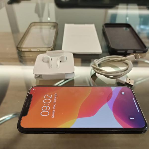 Iphone x - preto/black - 64gb - perfeito estado de