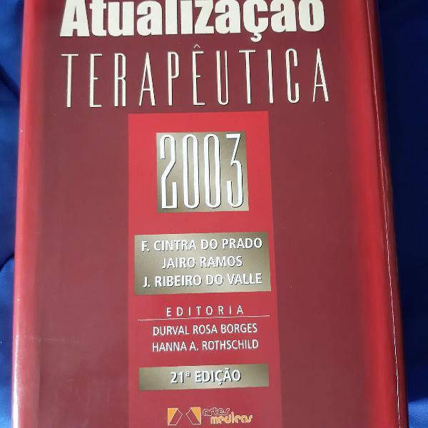 Livro atualização terapêutica 2003