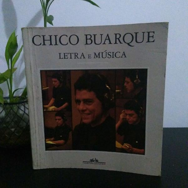 Livro chico buarque letra e música