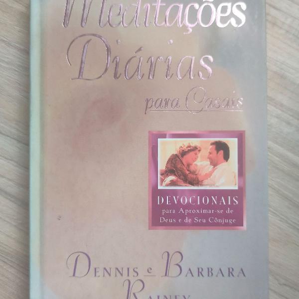 Livro meditações diárias para casais