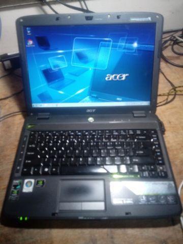 Notebook acer 3gb ram hd250gb semi-gamer