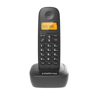 Telefone sem fio ts 2511 preto novo / garantia / nfe