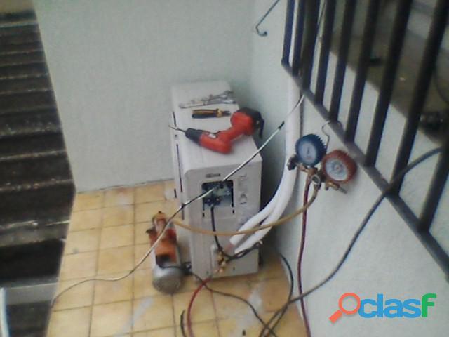 Conserto instalação ar condicionado taquara jacarepagua