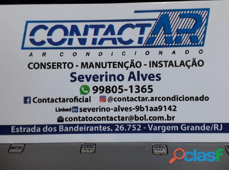 conserto instalação ar condicionado taquara jacarepagua 1