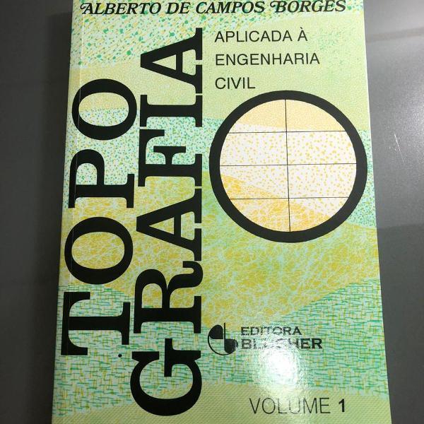 Livro topografia aplicada à engenharia civil