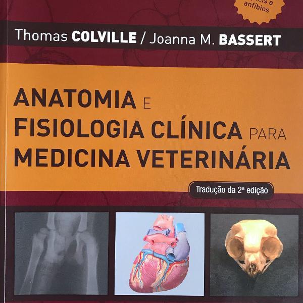 Livros veterinária - anatomia e dermatologia