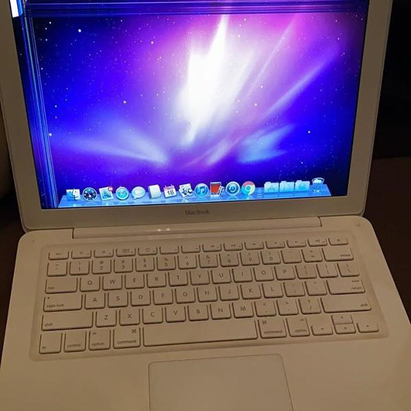 Macbook white a1342 atencao