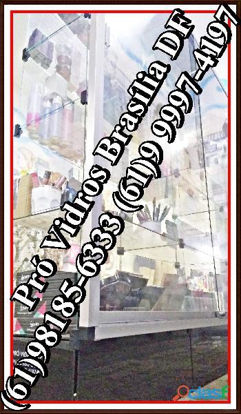 Vitrines Samambaia,(61)98185 6333,pronta entrega,em Brasília,DF,entorno 1
