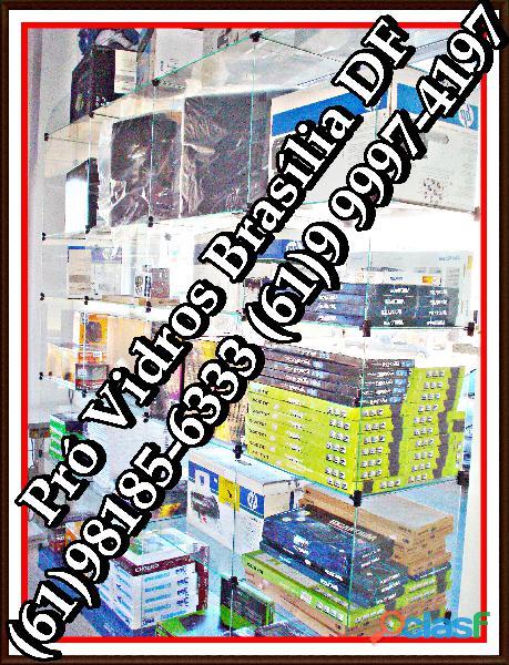 Vitrines Samambaia,(61)98185 6333,pronta entrega,em Brasília,DF,entorno 2