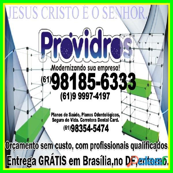Vitrines Samambaia,(61)98185 6333,pronta entrega,em Brasília,DF,entorno 6