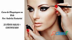 Curso de maquiagem na web or andreia venturini