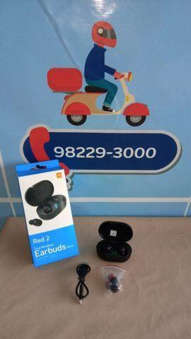 119,99 fone de ouvido red 2 airdots earbuds basic ? entrega