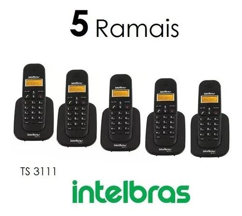 5 Ramais Ts 3111 Intelbras P Telefones 3110 3130 5150 5120