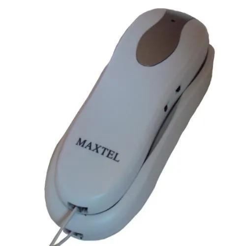 Aparelho telefone gôndola com fio - mt-607 - branco -