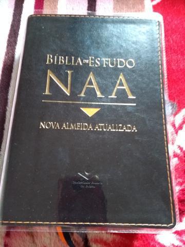 Biblia de estudo naa