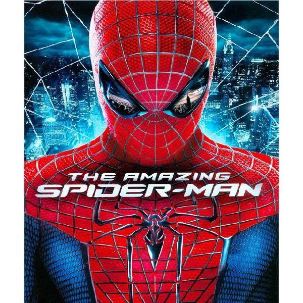 Blu-ray 2d e 3d - o espetacular homem aranha - spiderman