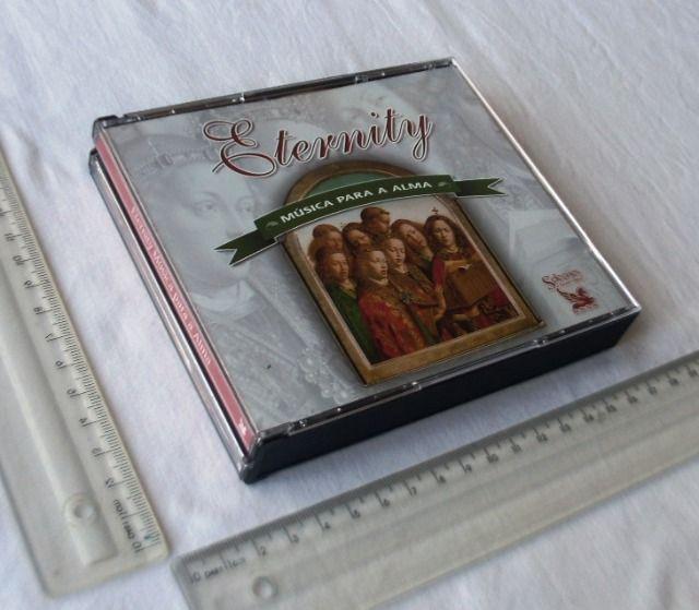 Box cd - seleções readers digest - coleção eternity