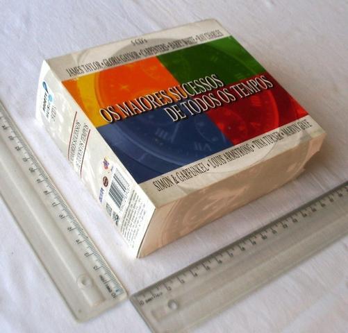Box cd?s de músicas - coleção os maiores sucessos de