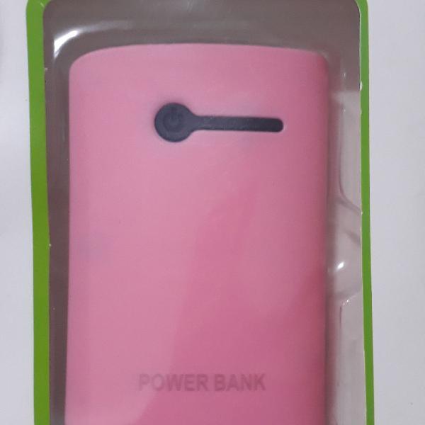 Carregador celular power bank bateria externa 3800mah