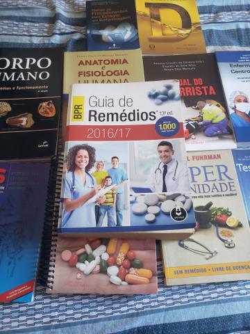 Coleção de livros para enfermagem (área da saúde)