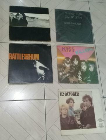 Coletânea de lps discos de vinil clássicos