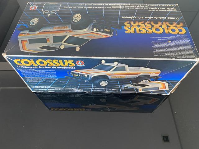 Colossus estrela prata controle remoto anos 80