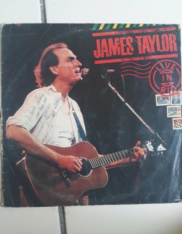 Disco de vinil do james taylor